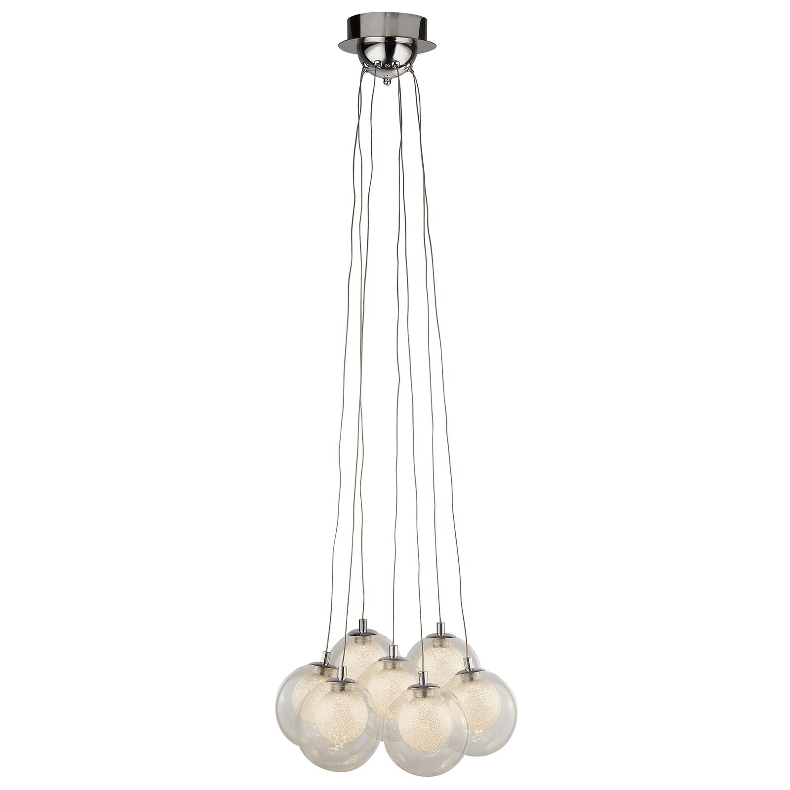 Cluster LED-hængelampe, 7 lyskilder