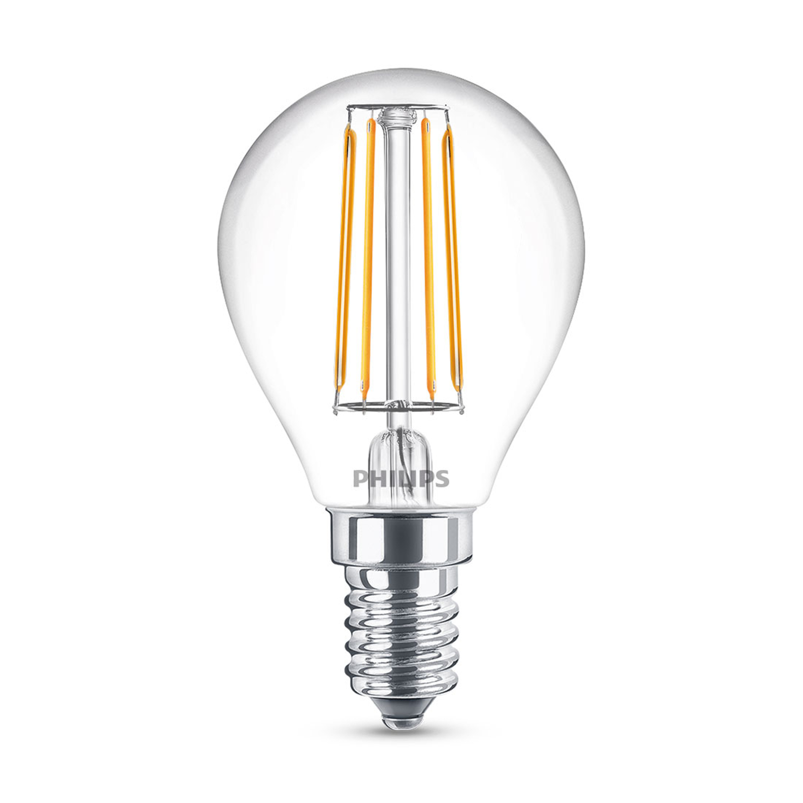 Philips Classic żarówka LED E14 P45 4,3W 4000K