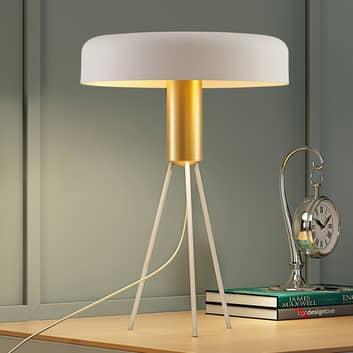 Lucande Filoreta lampa stołowa biała