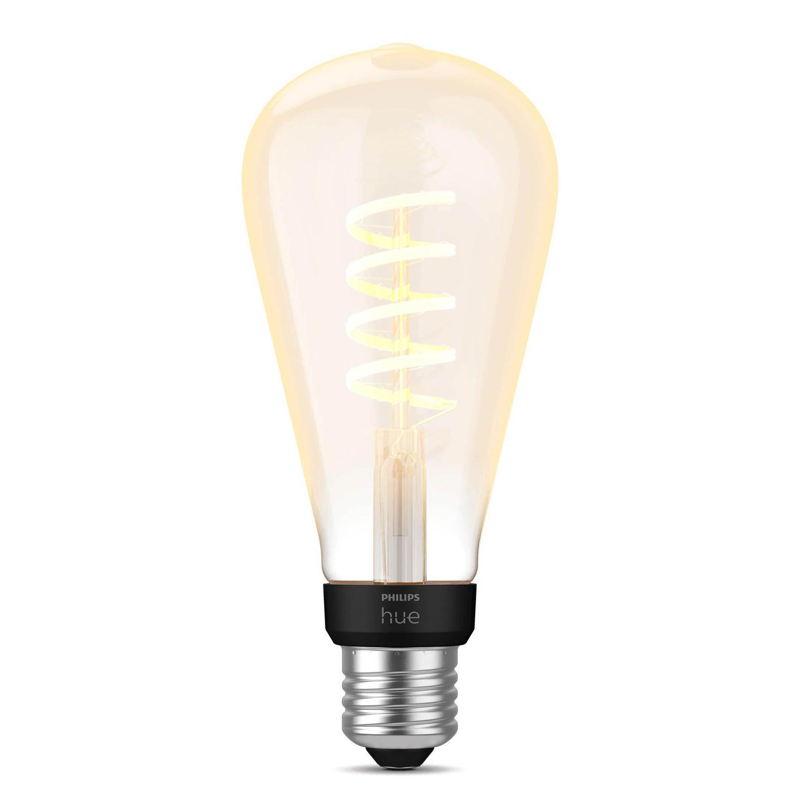 Philips Hue E27 7W LED-Lampe Giant Edison Filament