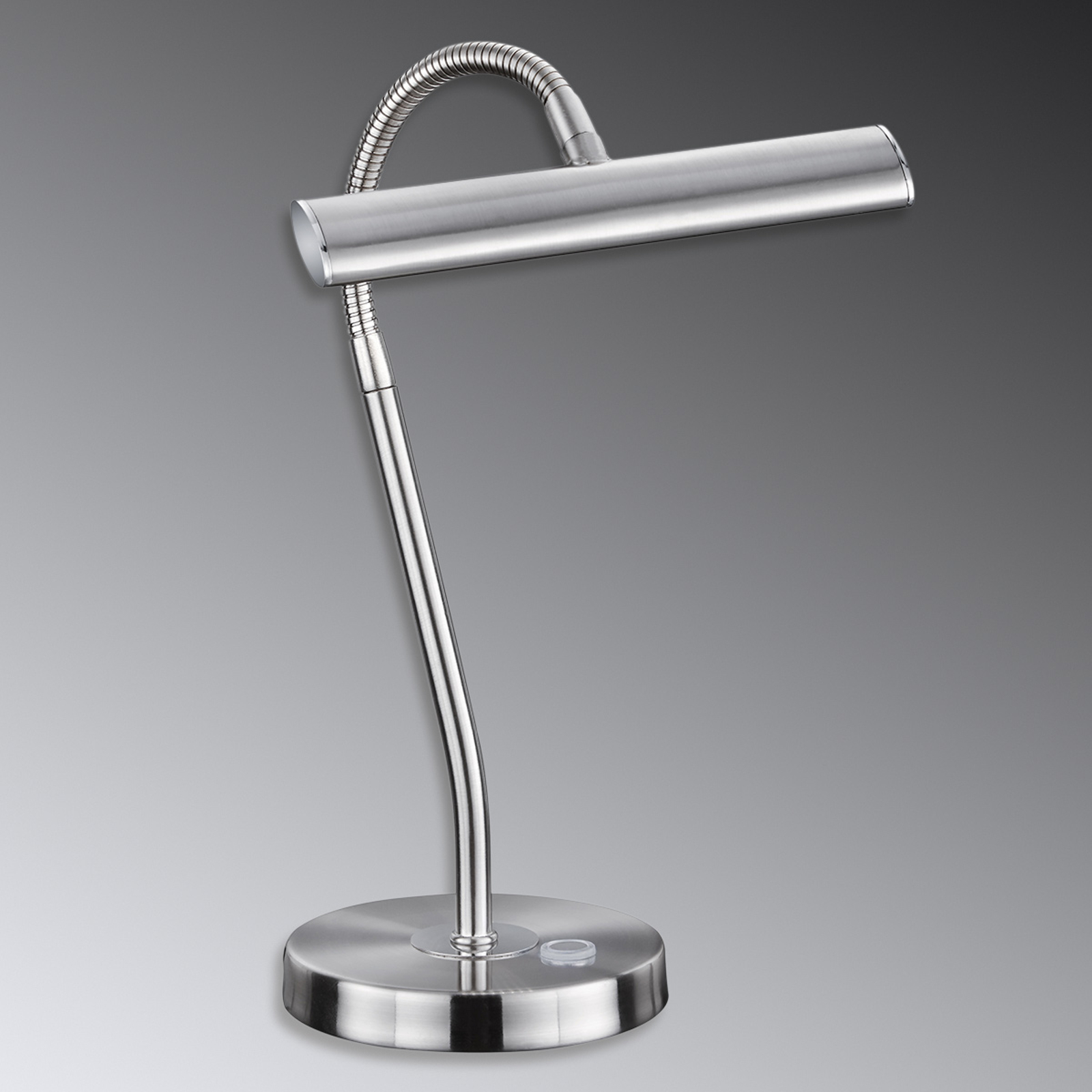Curtis - LED-Tischleuchte, nickel matt