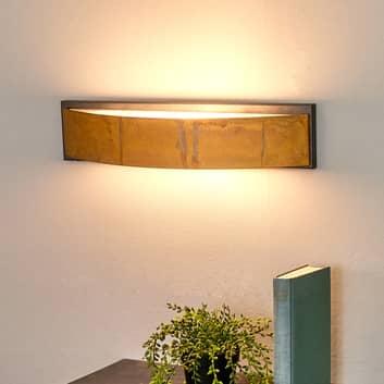 Lámpara de pared LOLA exclusiva, marrón