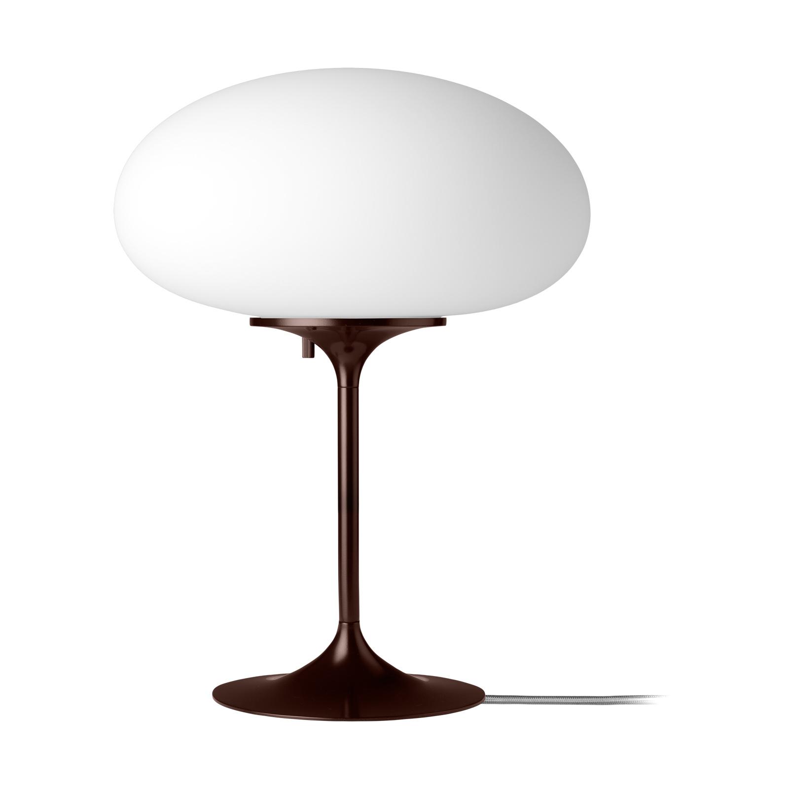 GUBI Stemlite Tischleuchte, schwarz-rot, 42 cm