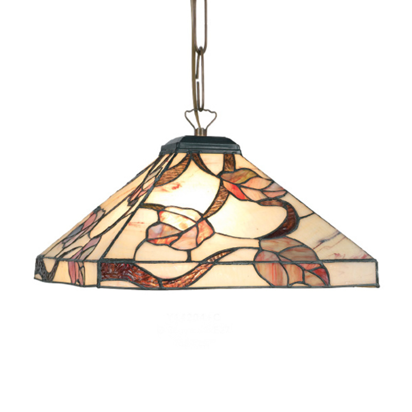 Lampa wisząca Appolonia w stylu Tiffany