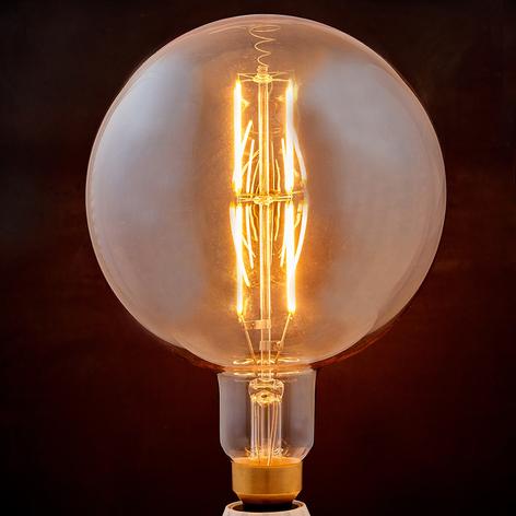 E27 LED lamp filament 8W 800lm 1.900K amber globe