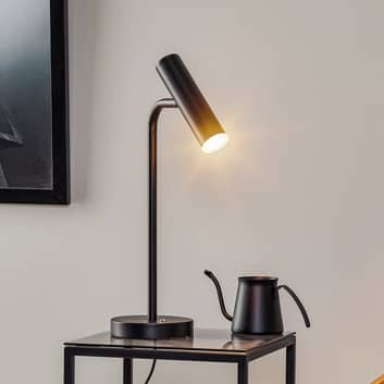 Schöner Wohnen Stina lampe à poser LED, noire