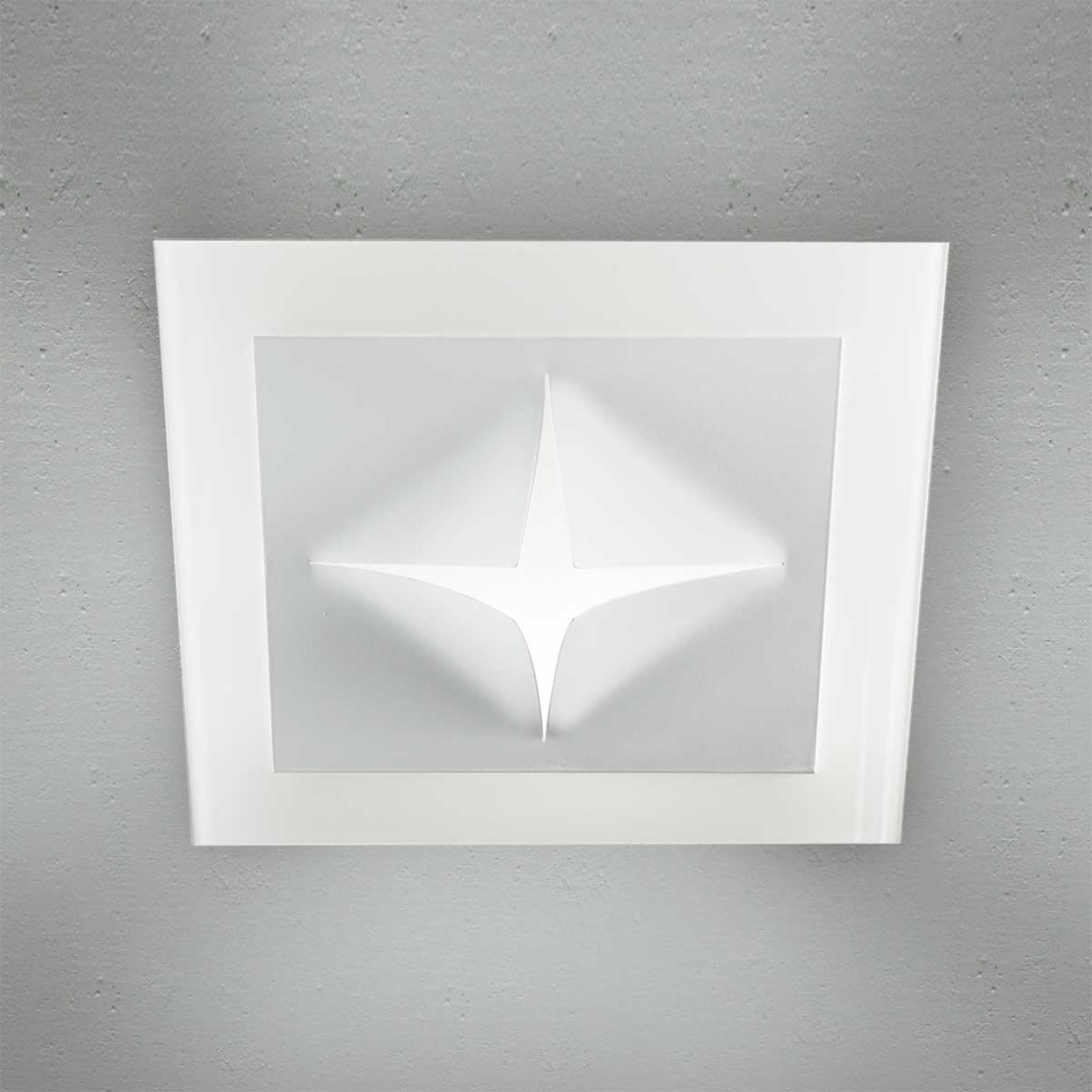 Kreatywna lampa sufitowa CROSS 8195 E27 40 cm