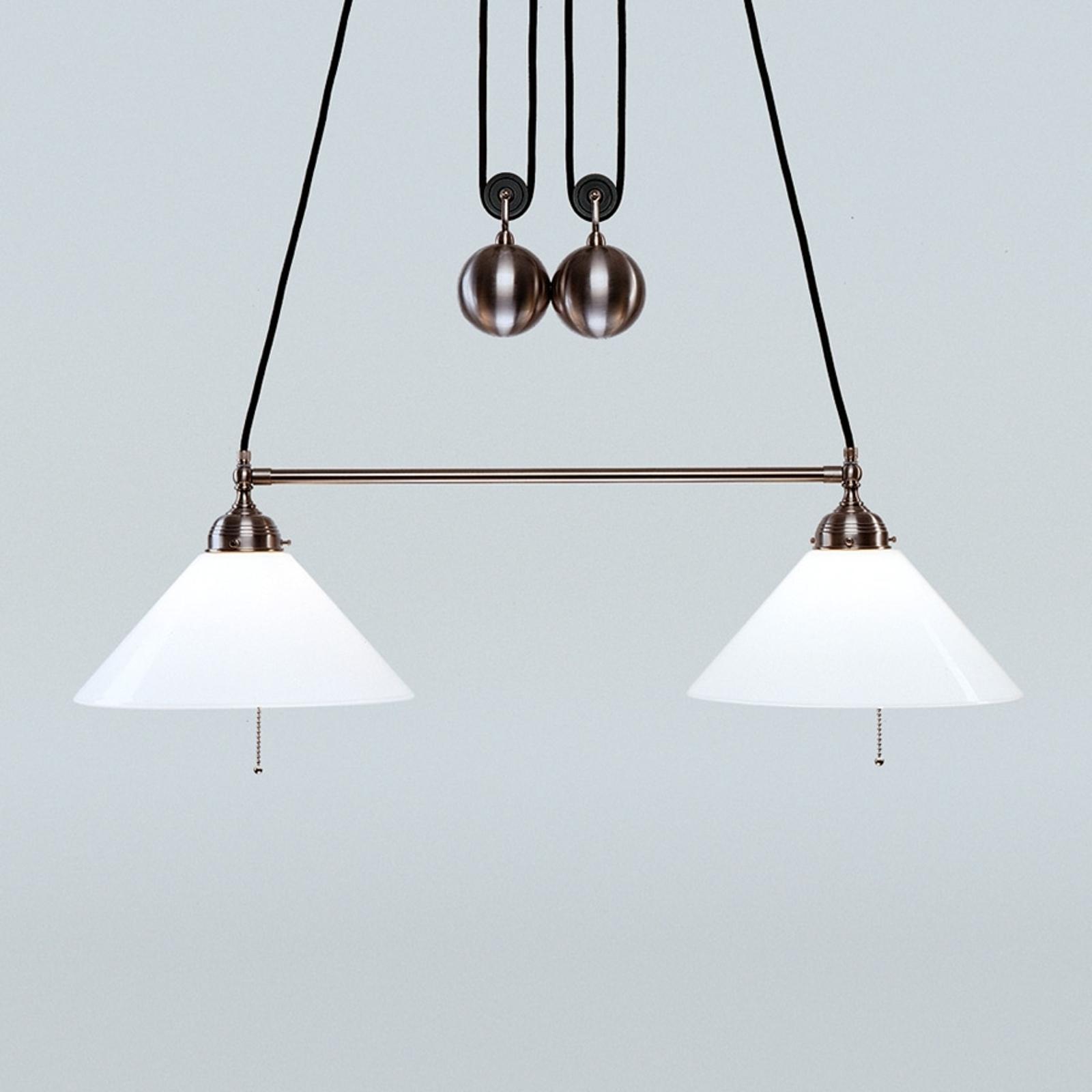 Den justerbare hængelampe Emma