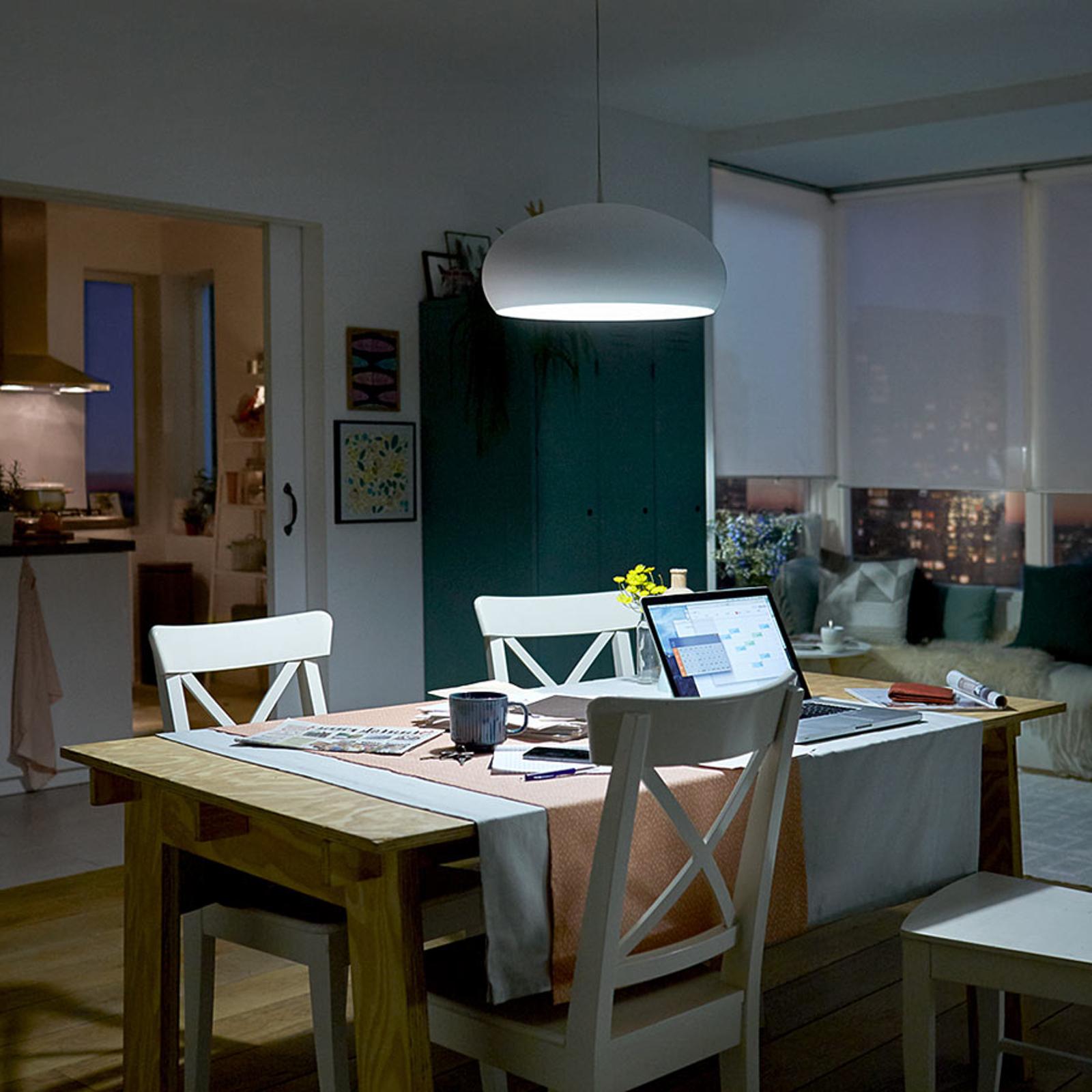 Philips E27 7W 840 A60 lampadina LED satinato