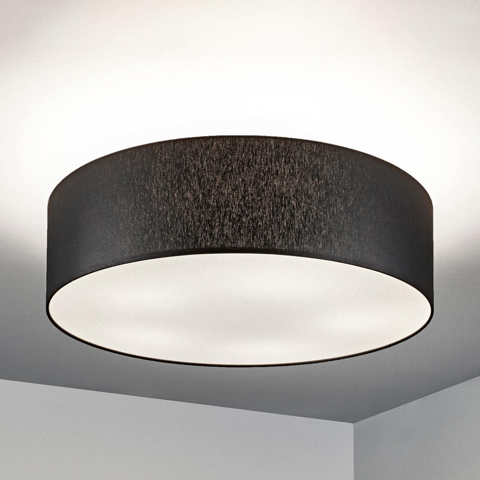 Taklampe Gala, 60 cm, chintz svart