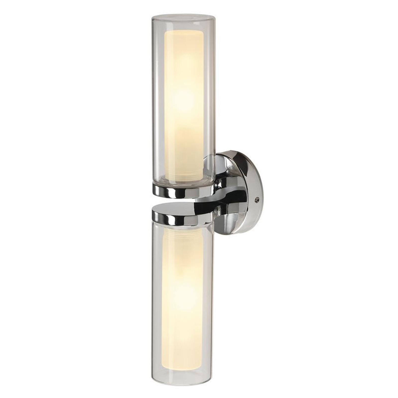 SLV WL 106 væglampe, IP44, 2 lyskilder