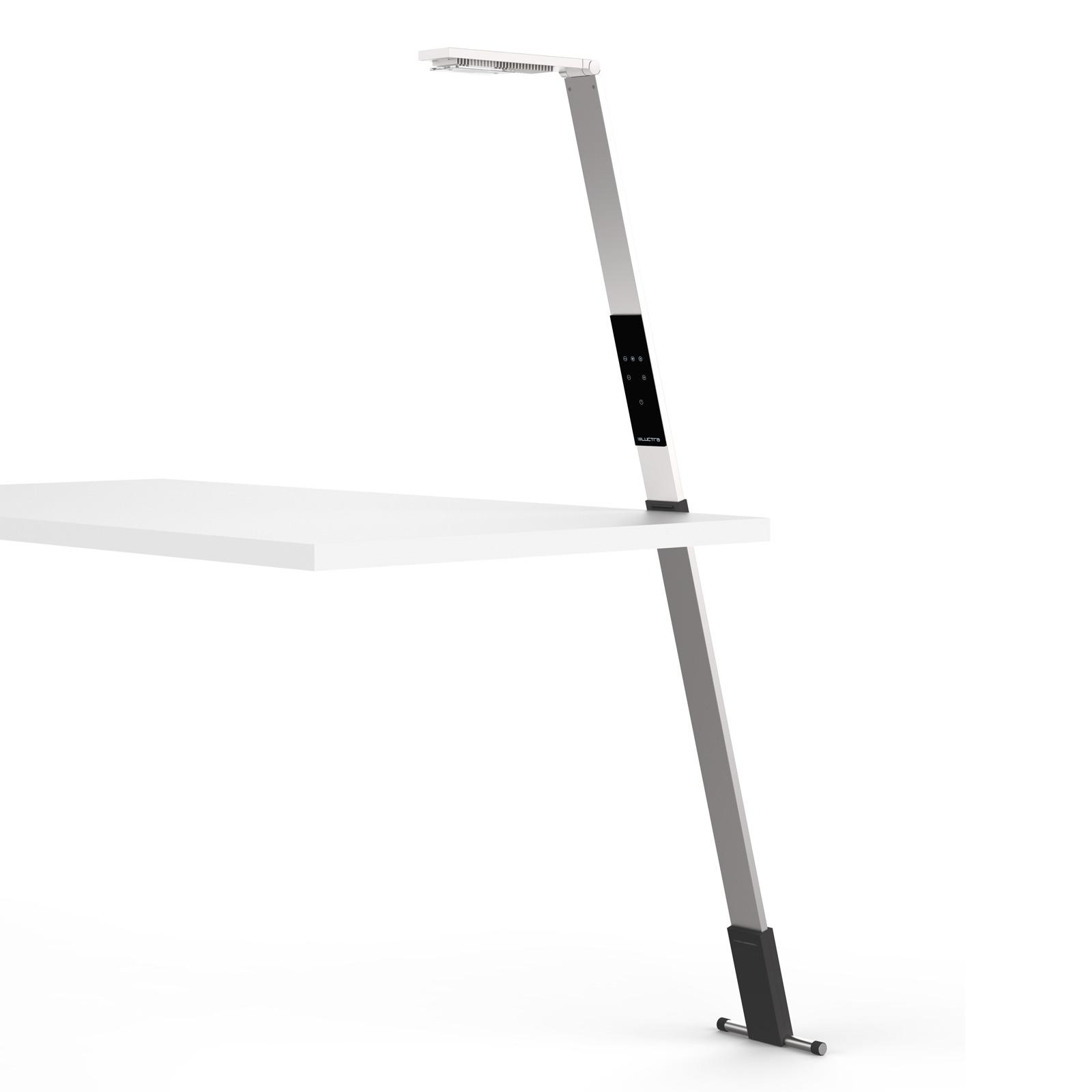 Luctra Flex LED-Stehleuchte kabellos, Akku alu
