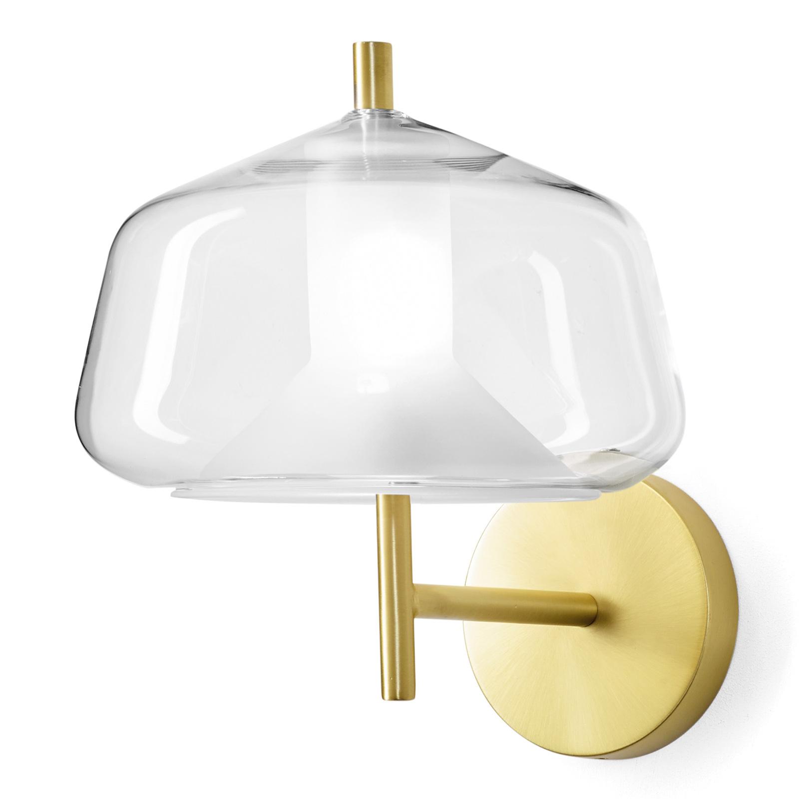 Wandlamp X-Ray, buikvormige vorm, helder