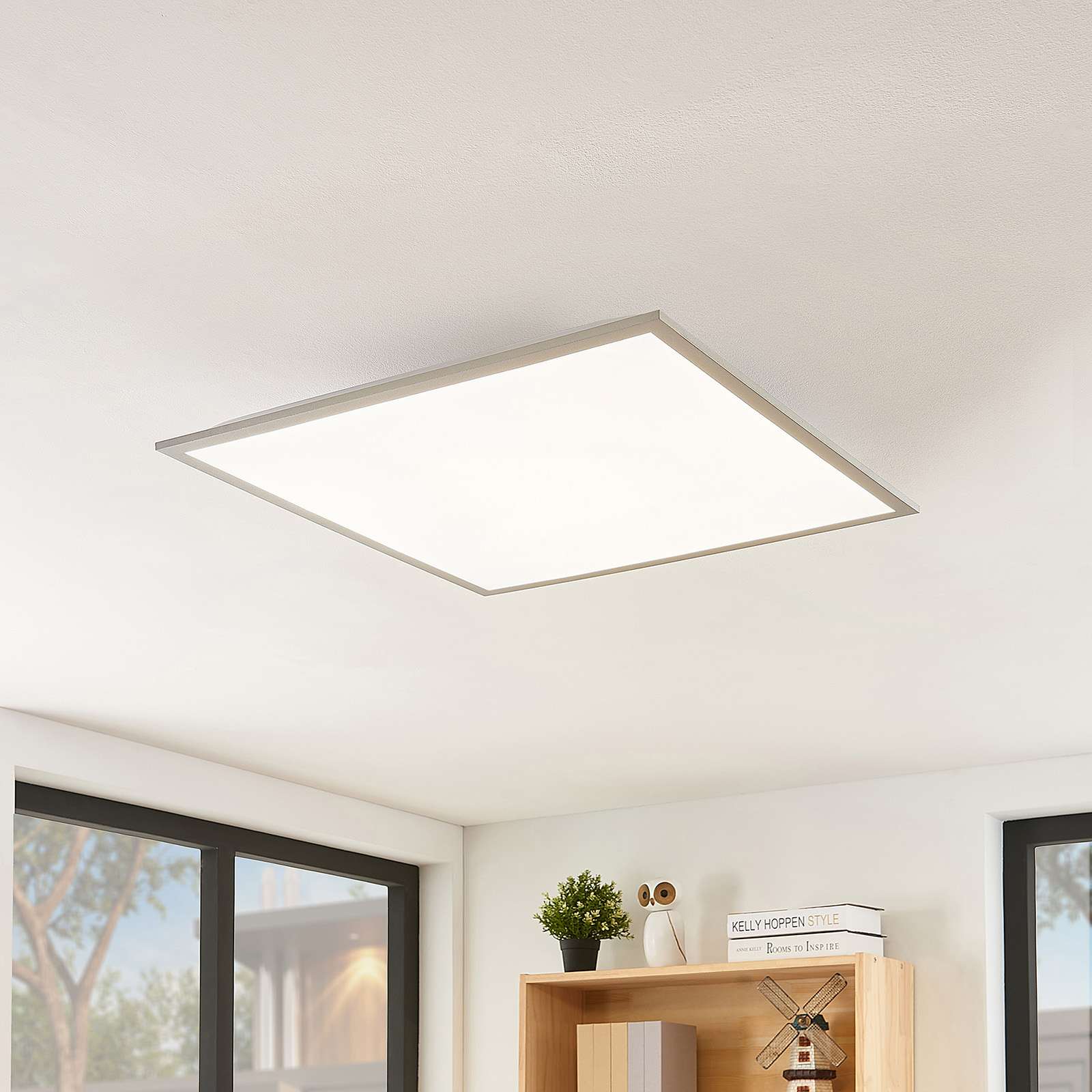 Acquista Lindby Stenley pannello LED CCT, 59 cm x 59 cm