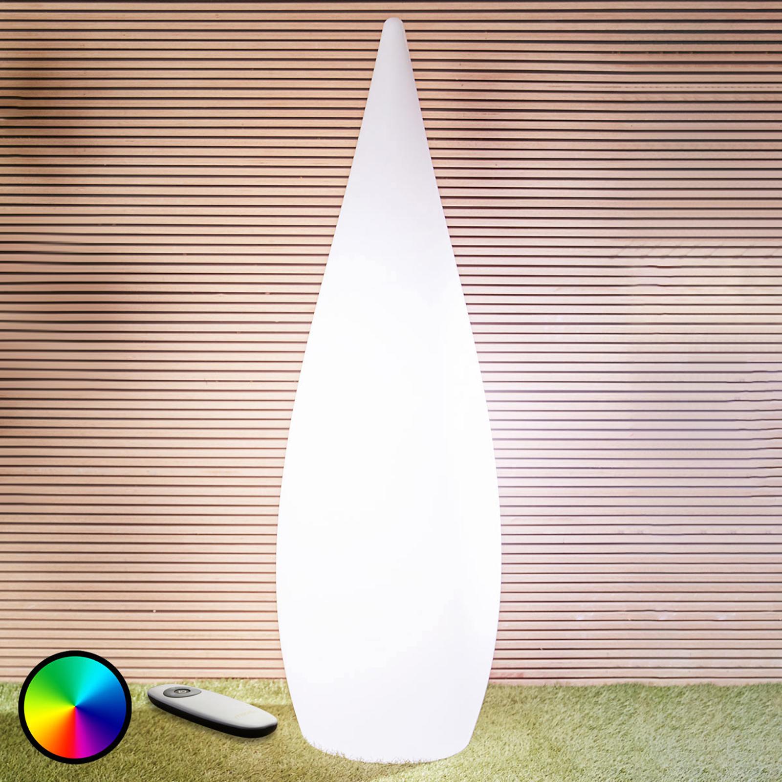 Lampe décorative LED Mino pour le jardin, 150cm