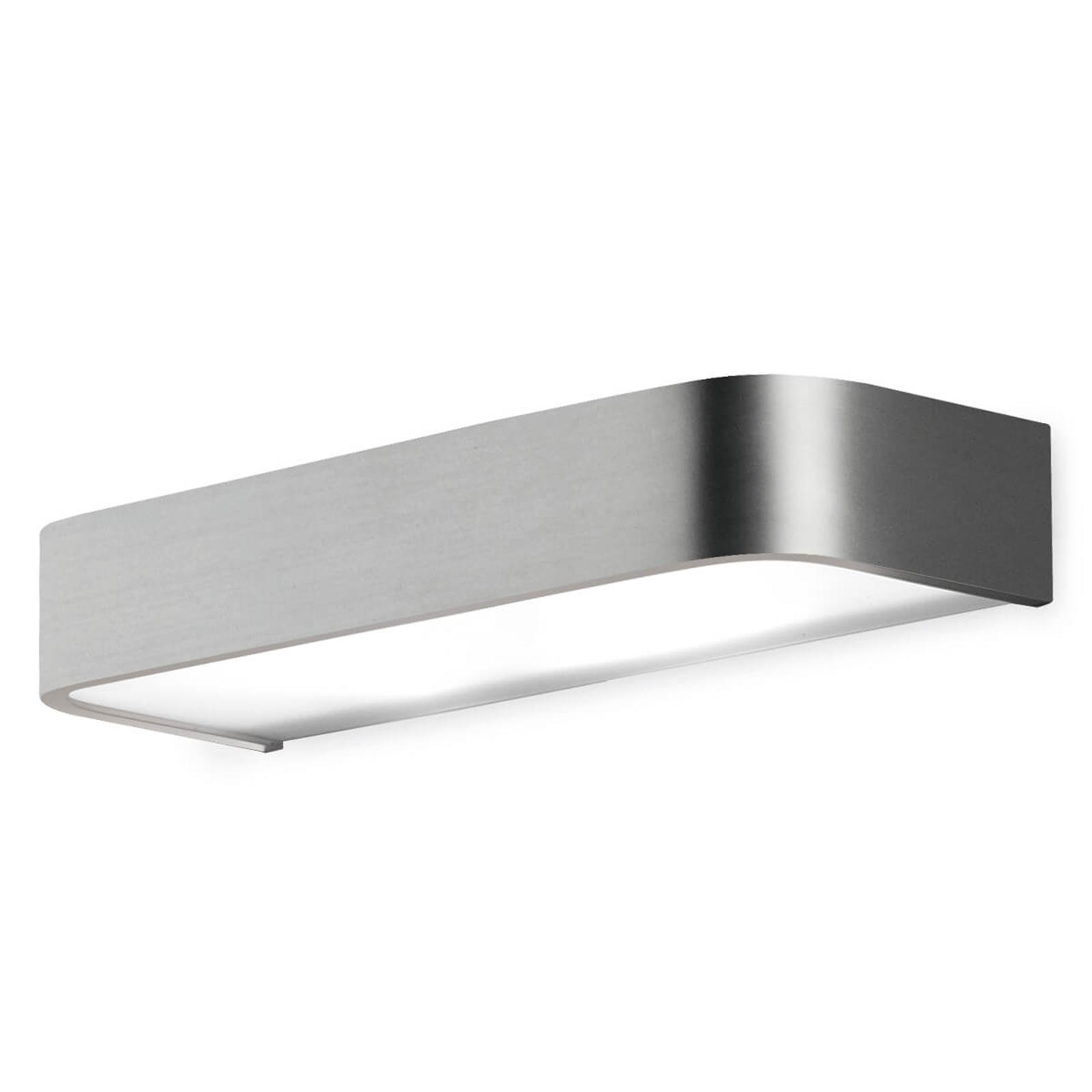 Applique de salle de bain Arcos LED, 30cm nickel