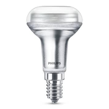 Philips LED-Reflektorlampe E14 R50 1,4W warmweiß