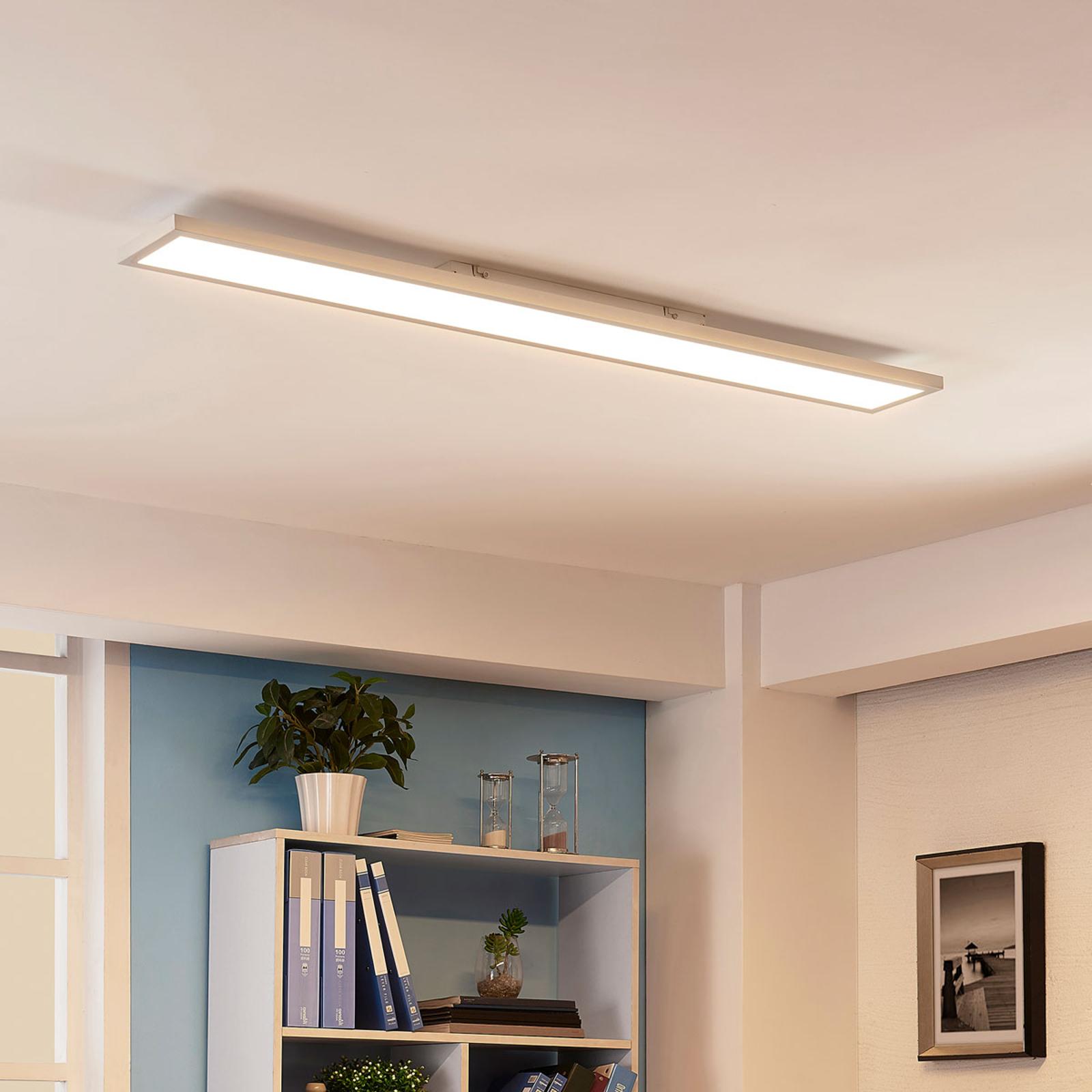 Langwerpige led plafondlamp Enora, 40W