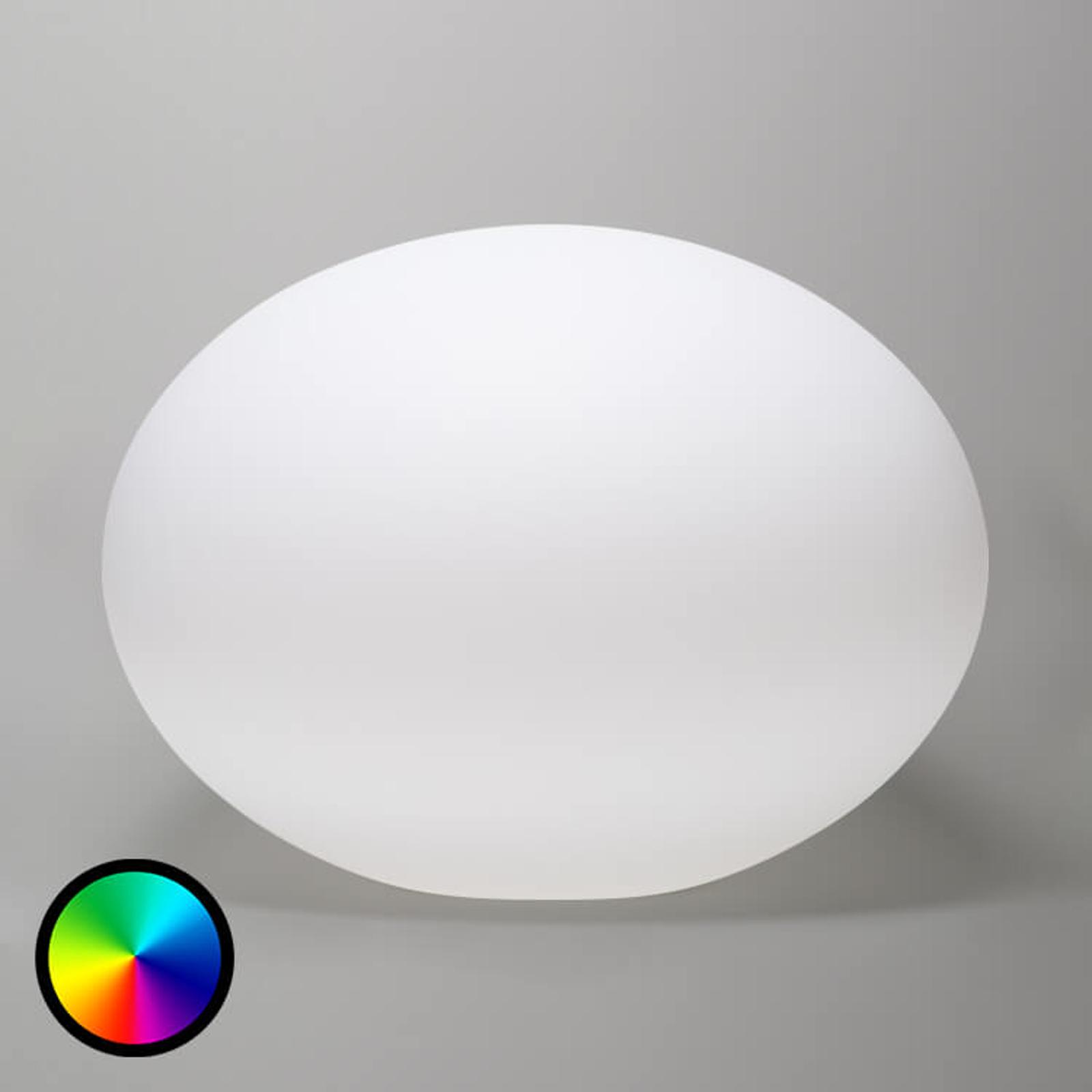 Flatball - schwimmfähige LED-Dekorationsleuchte