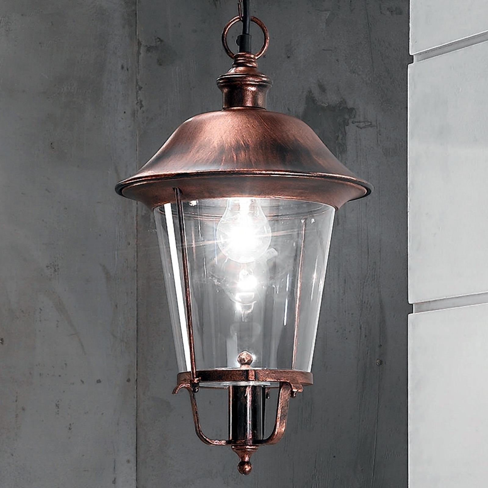 Dekoracyjna zewnętrzna lampa wisząca MARIELLA