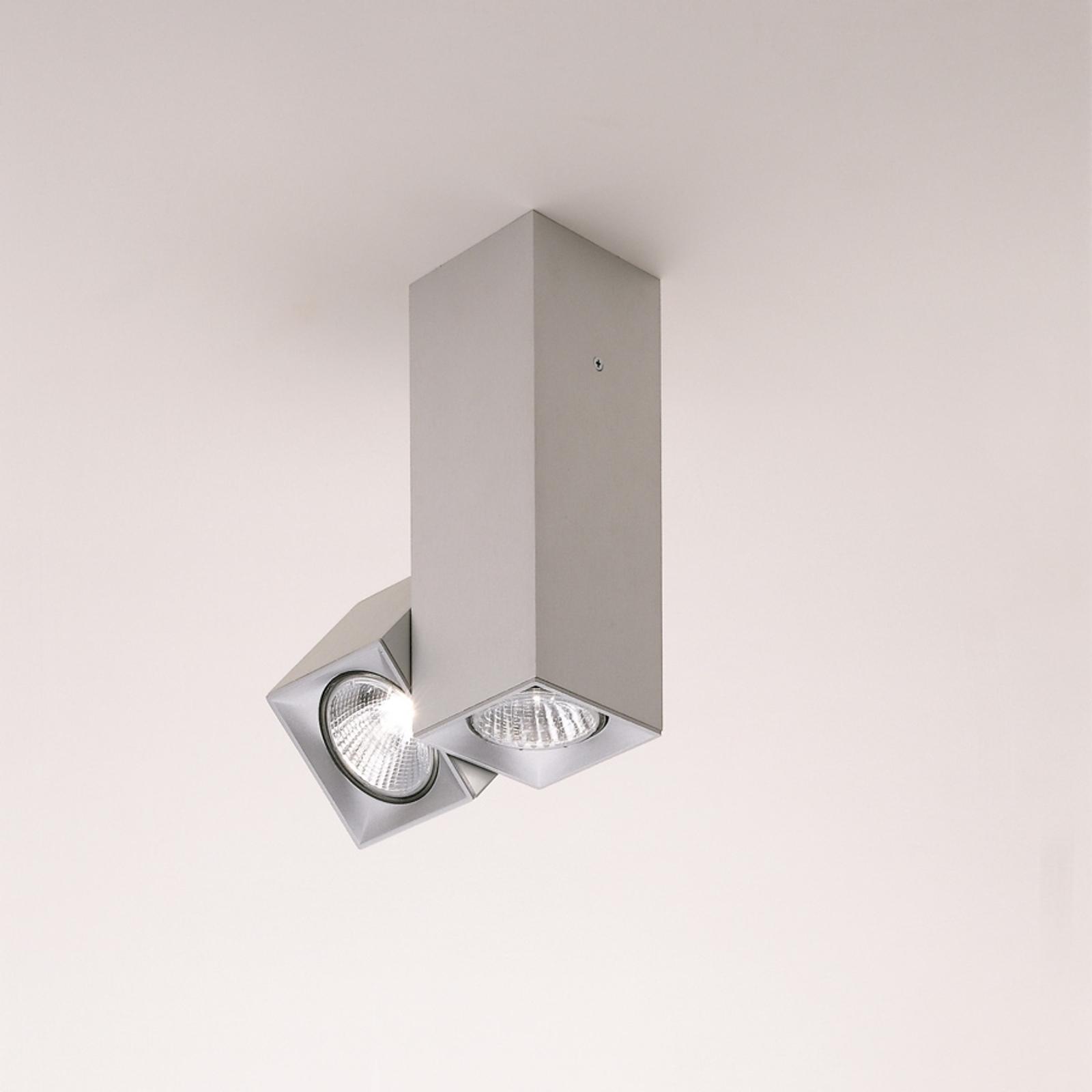 Milan Dau taklampe drei- og svingbar 2 lyskilder
