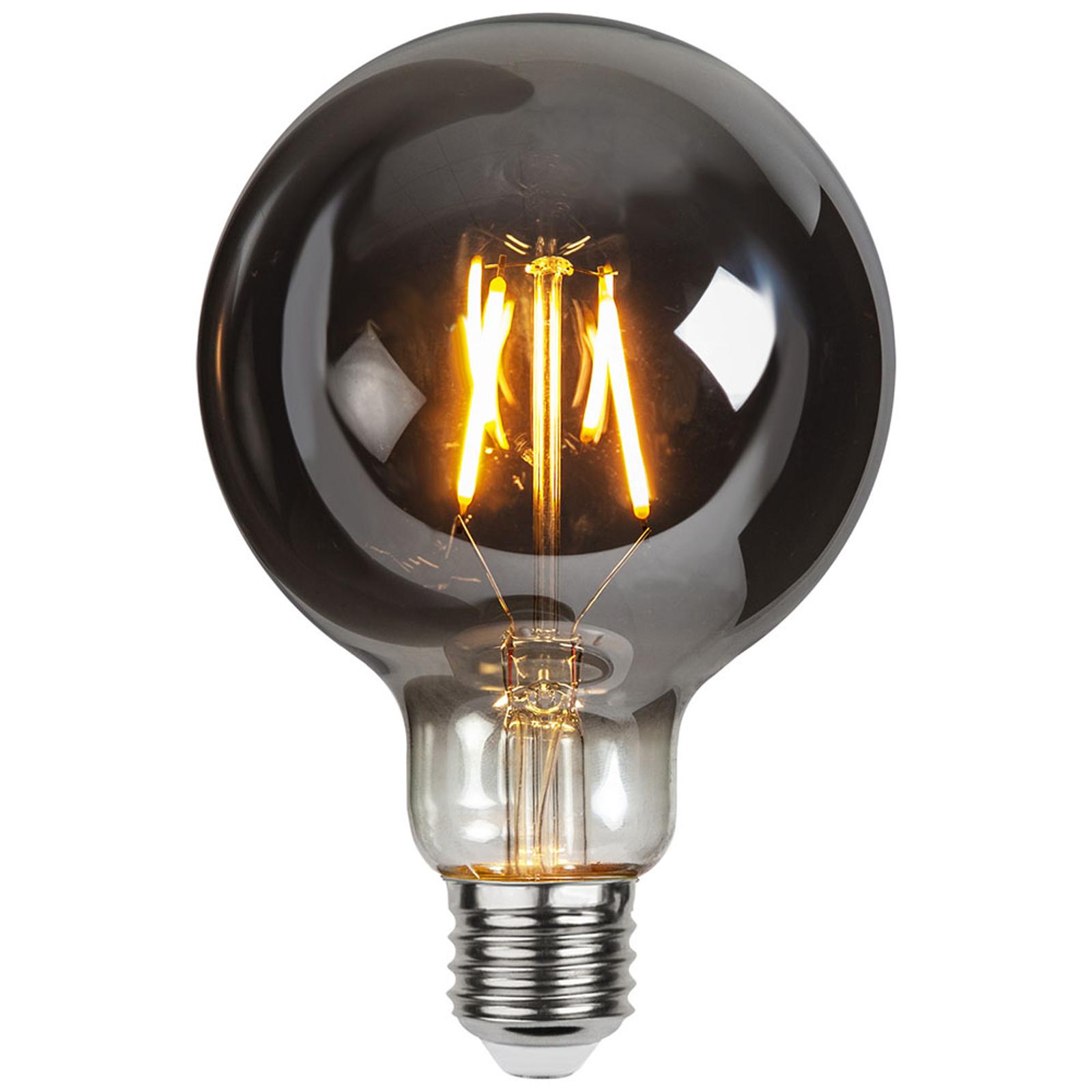 LED-Globelampe E27 1,8W Plain Smoke 2.100K Ø 95mm