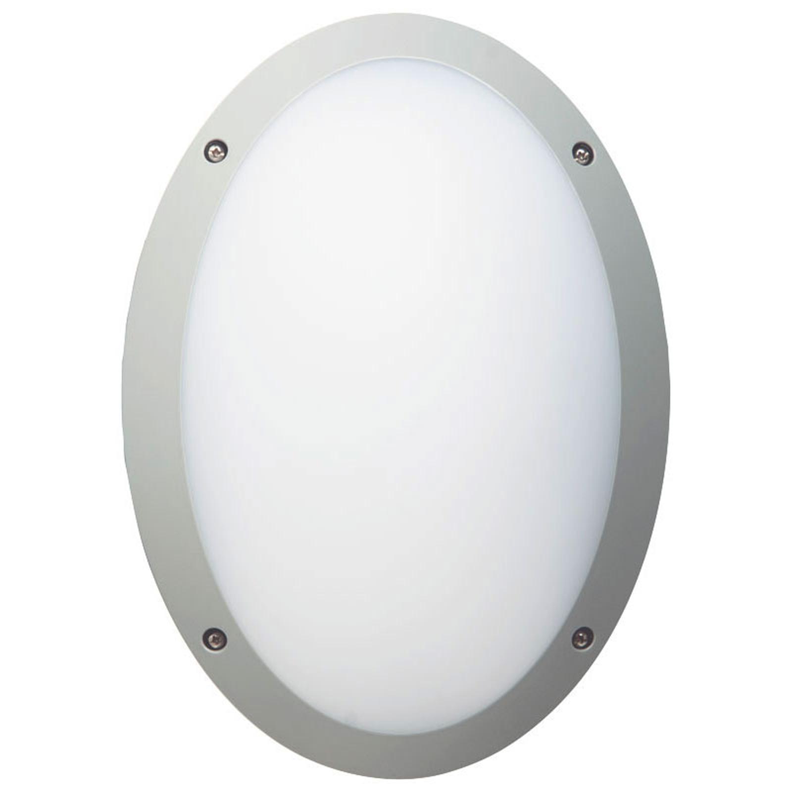LED-Deckenleuchte Fonda in ovaler Form mit IP66