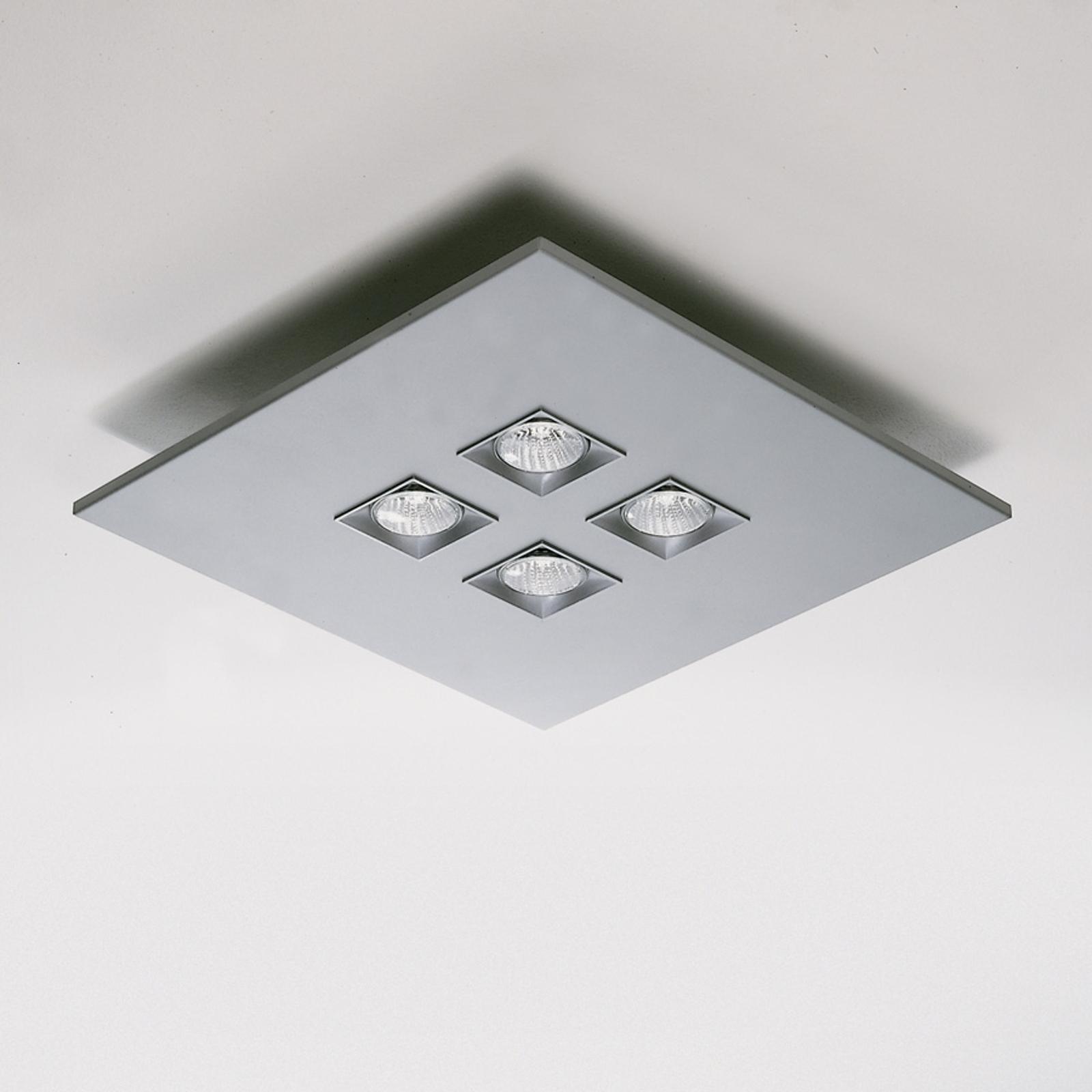 Milan Polifemo - Deckenleuchte metallicgrau