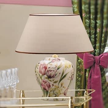 Door bloemen geïnspireerde tafellamp Living