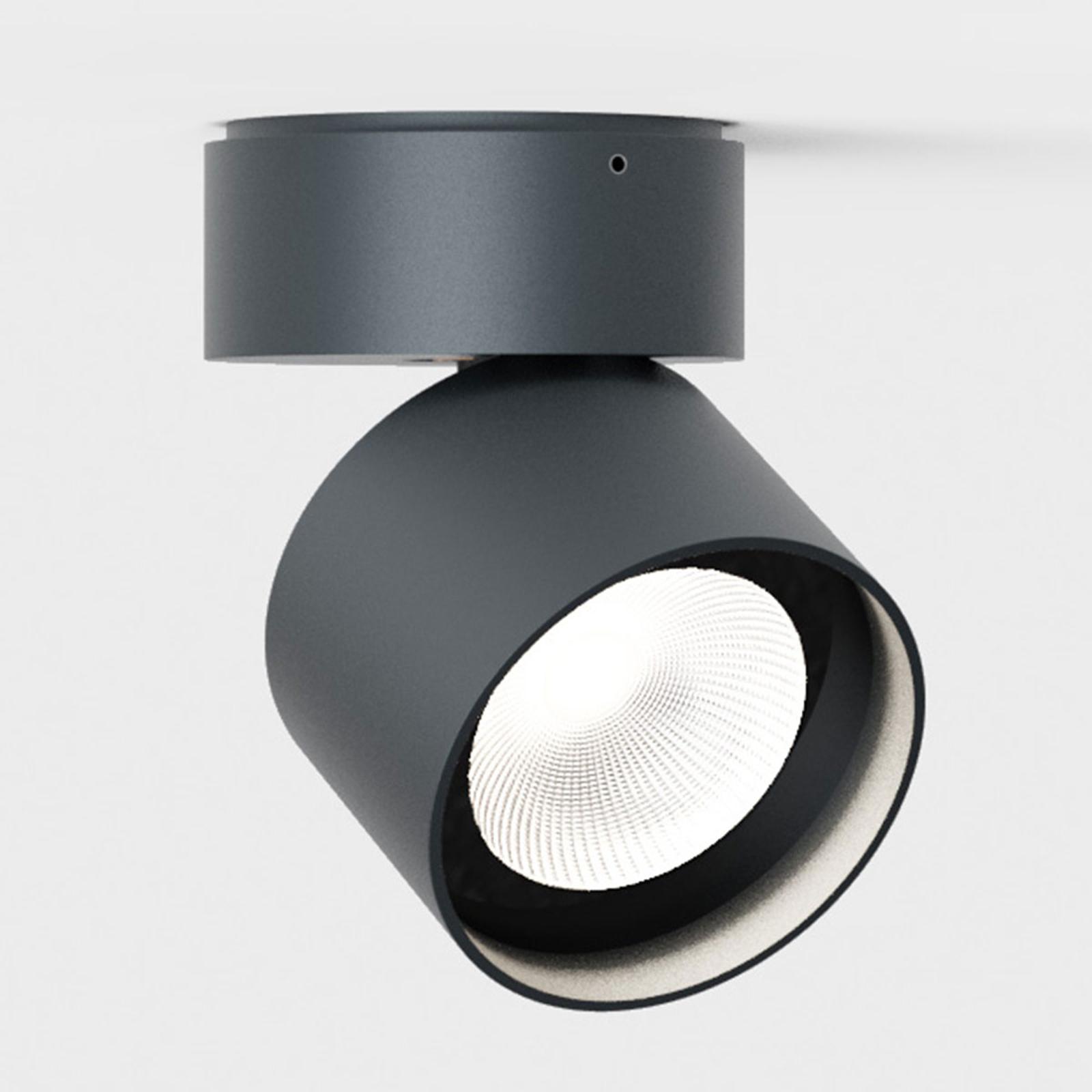IP44.de Pro zwenkbare LED buitenspot, antraciet