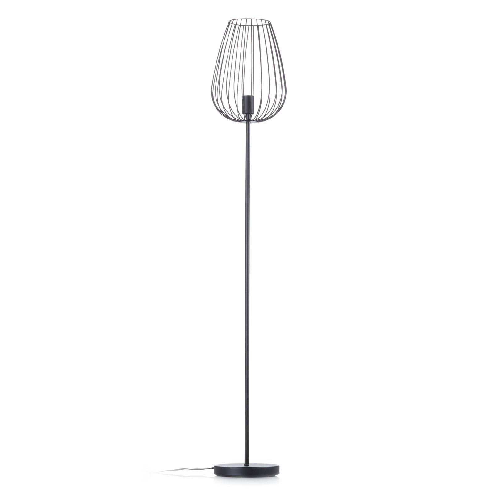 W modnym stylu vintage – lampa stojąca Newtown