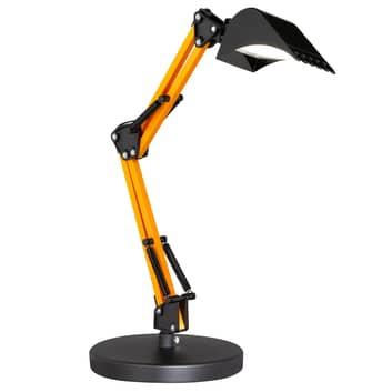 Lampe à poser LED Scoop en godet d'excavateur