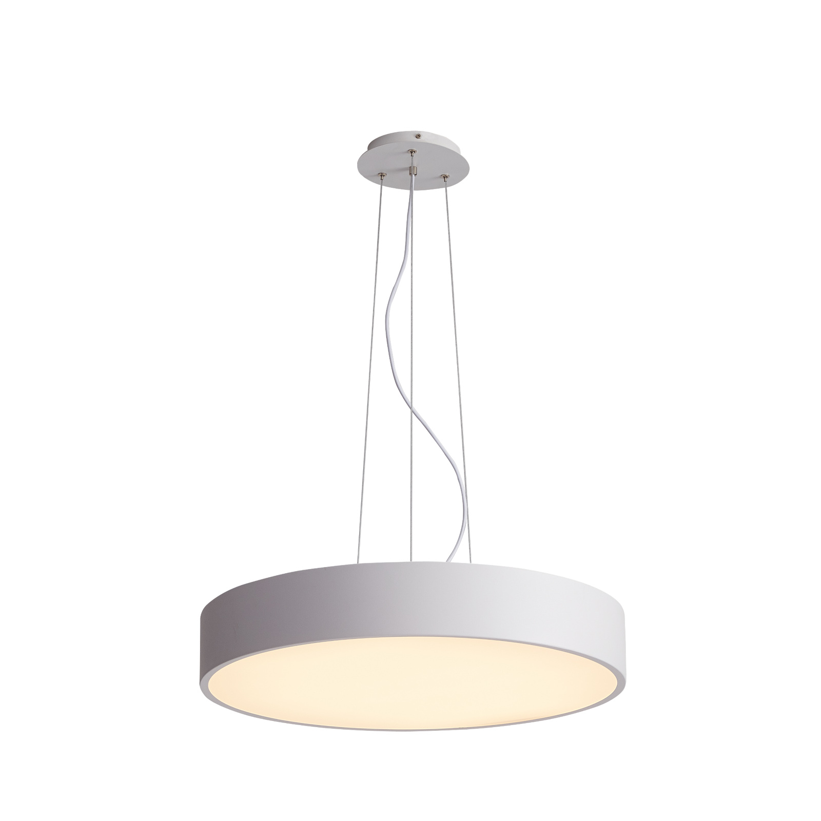 Arcchio Noabelle LED-hængelampe, hvid, 80 cm