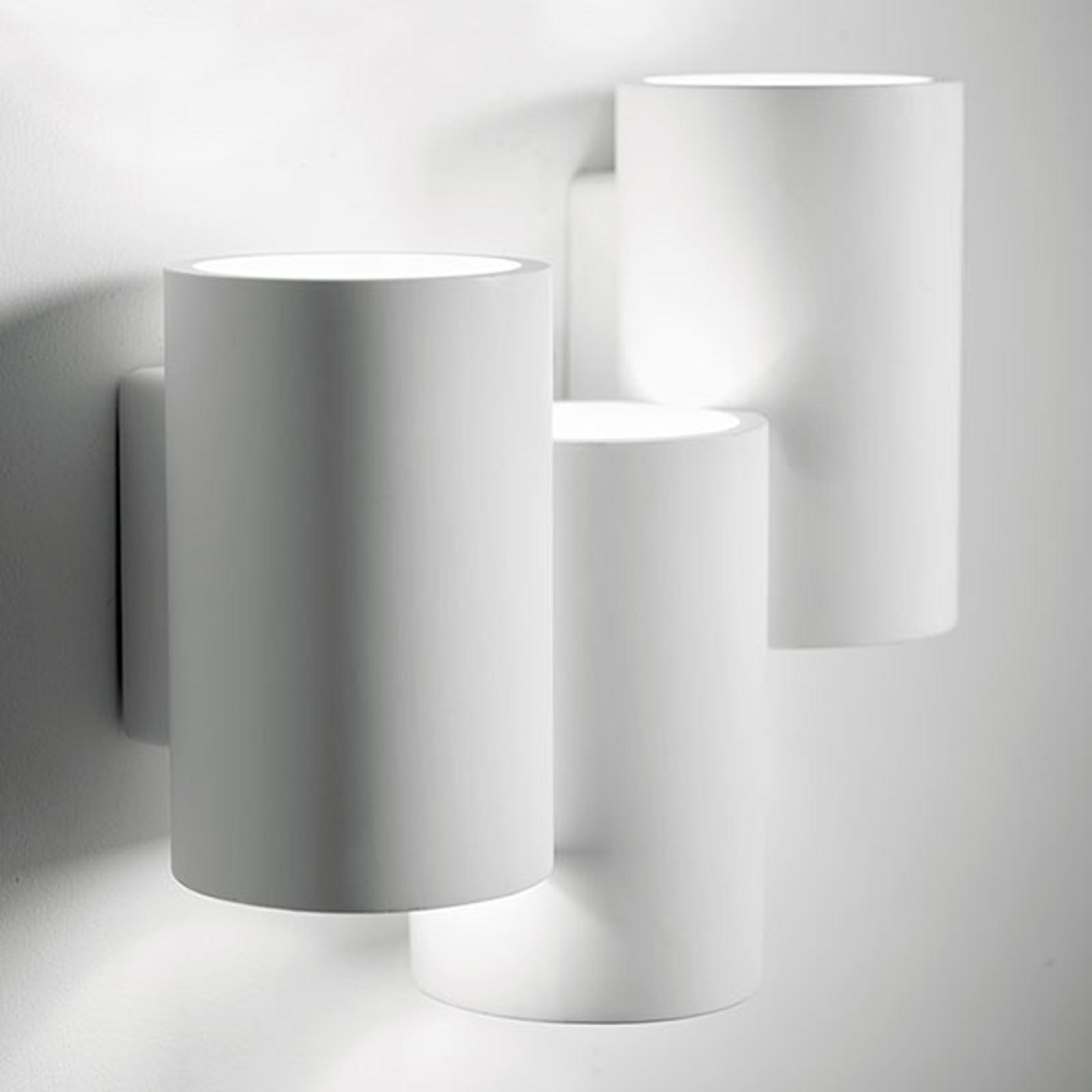 Wandlamp Arta met drie cilinders