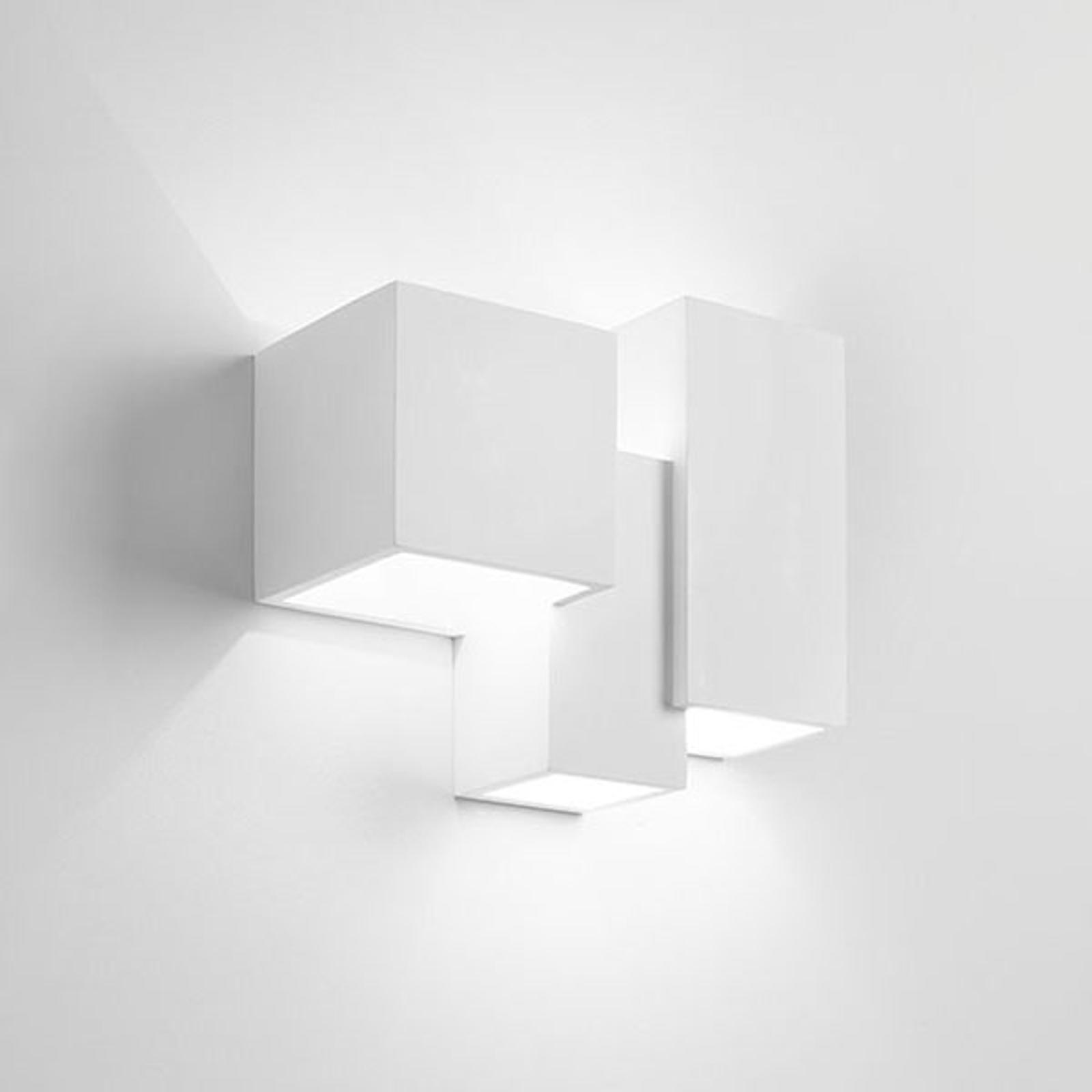 Nástěnné světlo Heraea ze sádry 3zdrojové