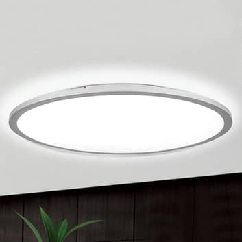 Plafón LED Aria en color titanio, atenuable