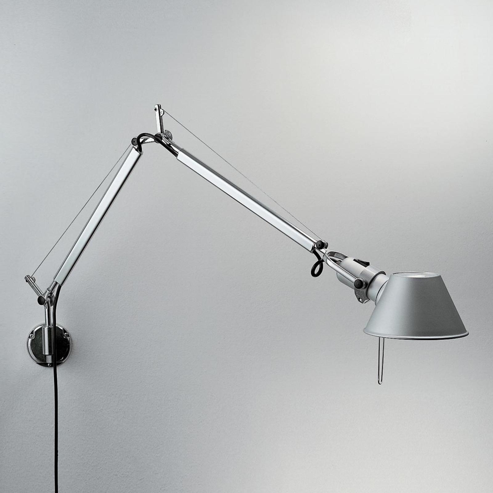 Designerska lampa ścienna Tolomeo Mini