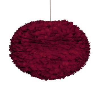 UMAGE Eos large riippuvalaisin, höyhen, punainen