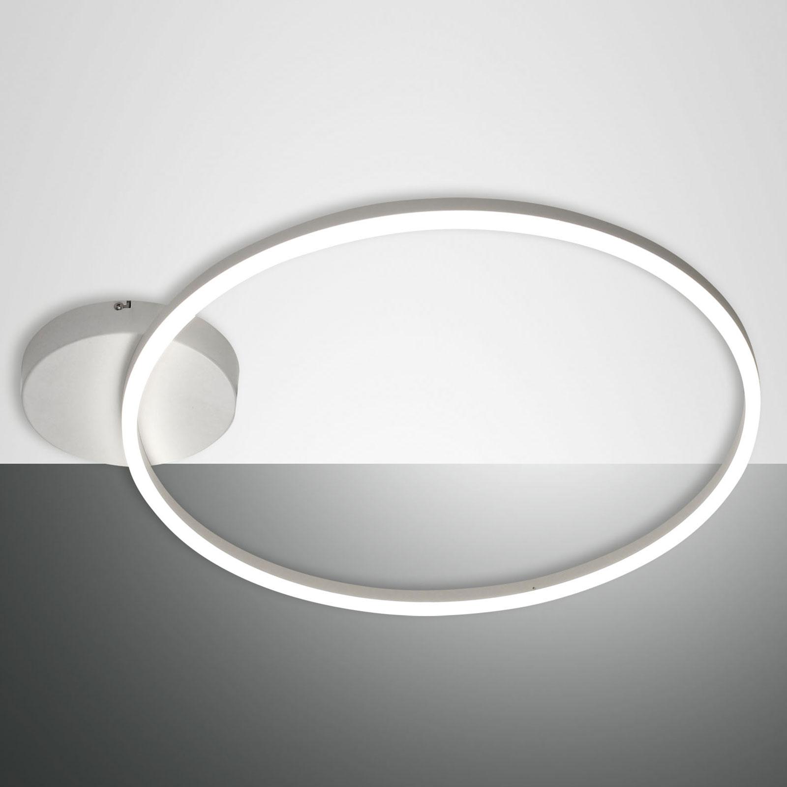 LED-Deckenleuchte Giotto 1fl., weiß