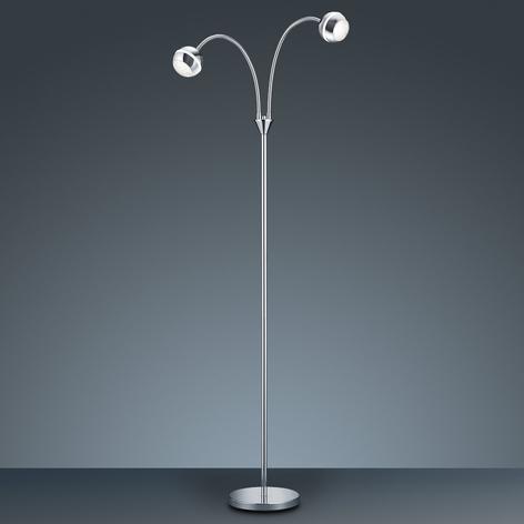 Lampadaire LED Ada à deux lampes
