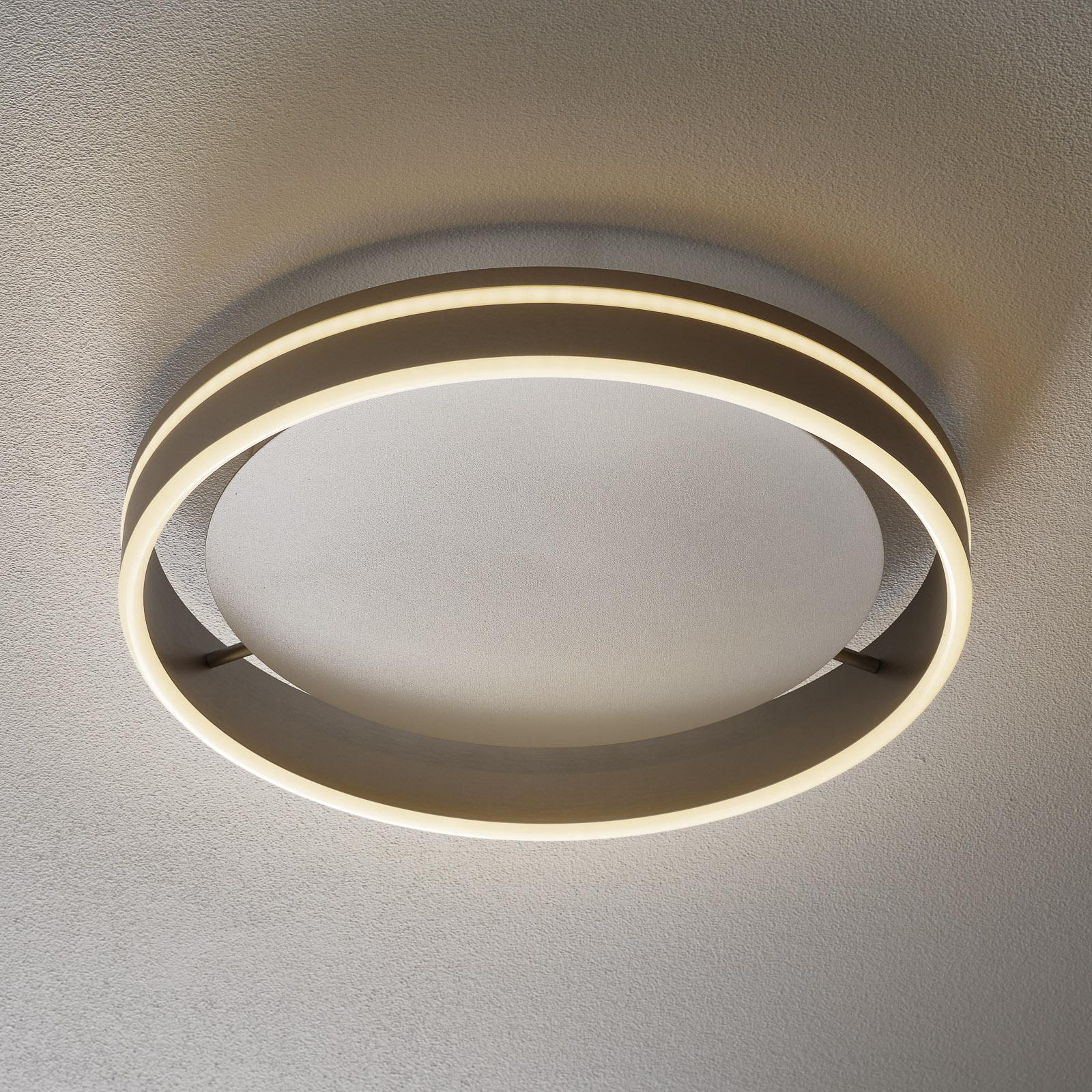 Paul Neuhaus Q-VITO lampa sufitowa LED 40cm stal