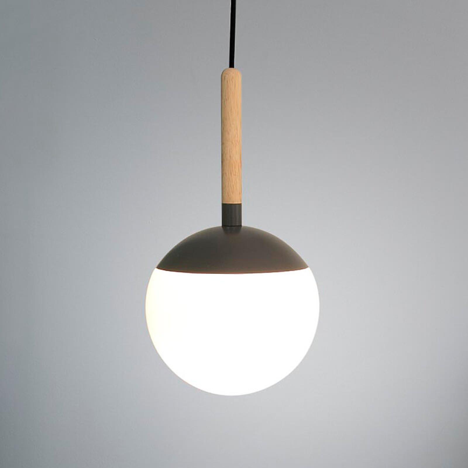 Acquista Elemento grigio scuro - Lampada a sospensione Mina