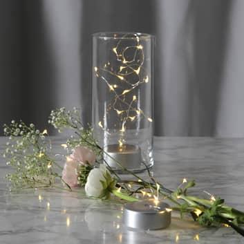 Guirlande lumineuse LED à piles Dew Drop