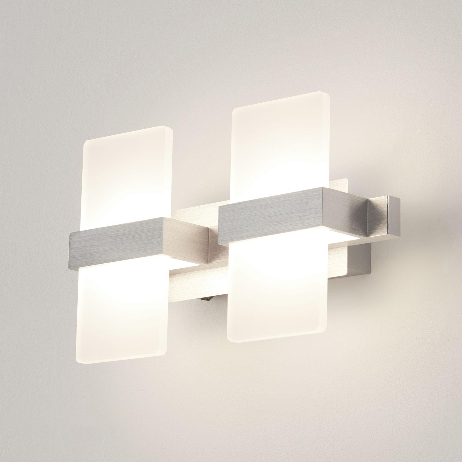 Trendy LED-vegglampe Platon, 2 lys