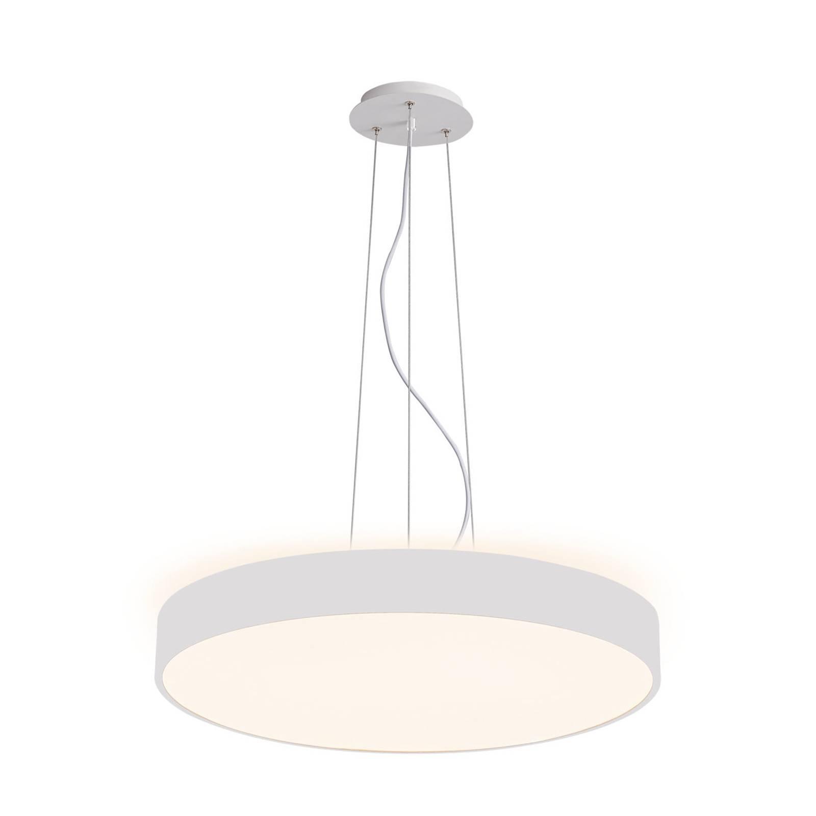 Arcchio Vanida suspension LED, blanche, 60cm