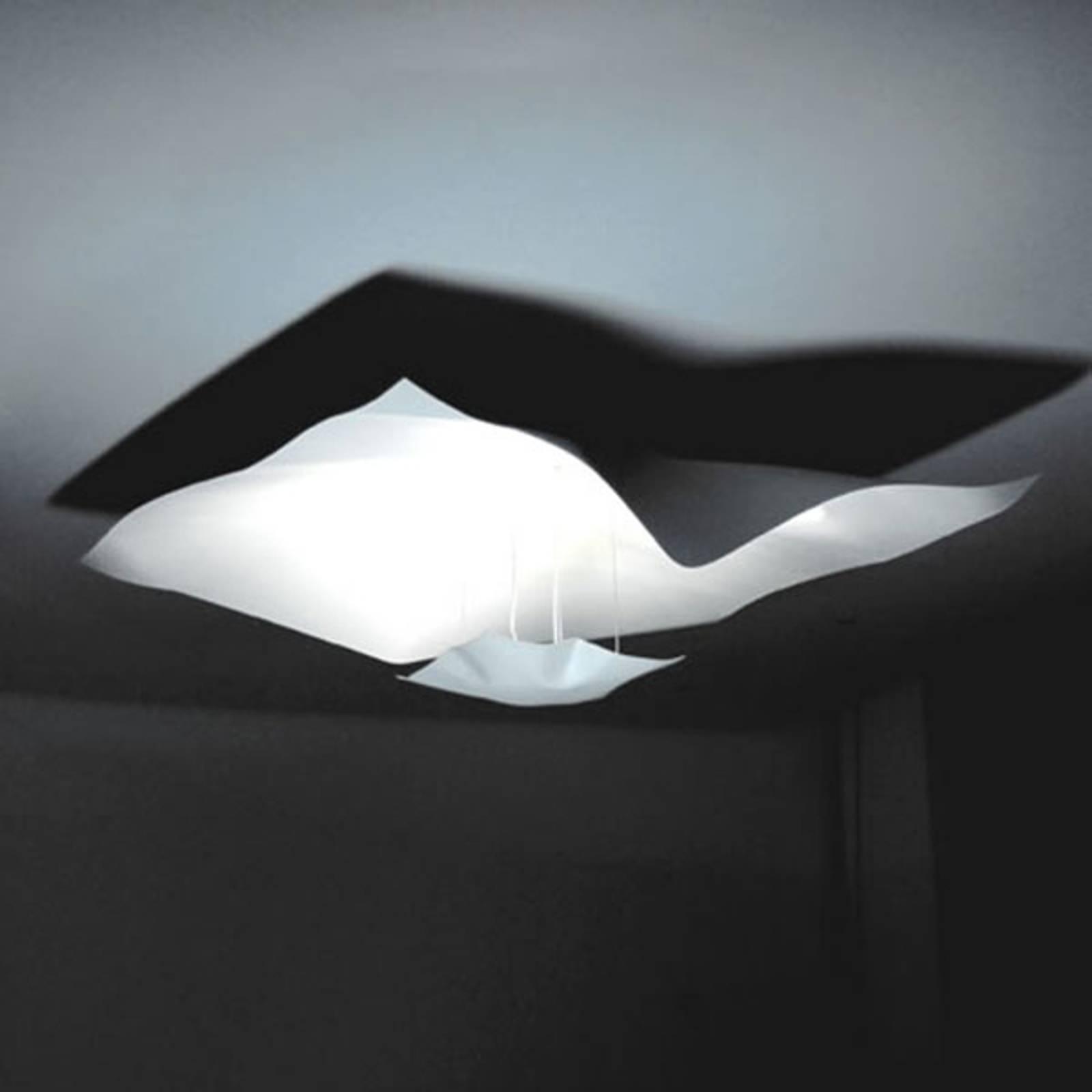 Knikerboker Crash LED hanglamp wit