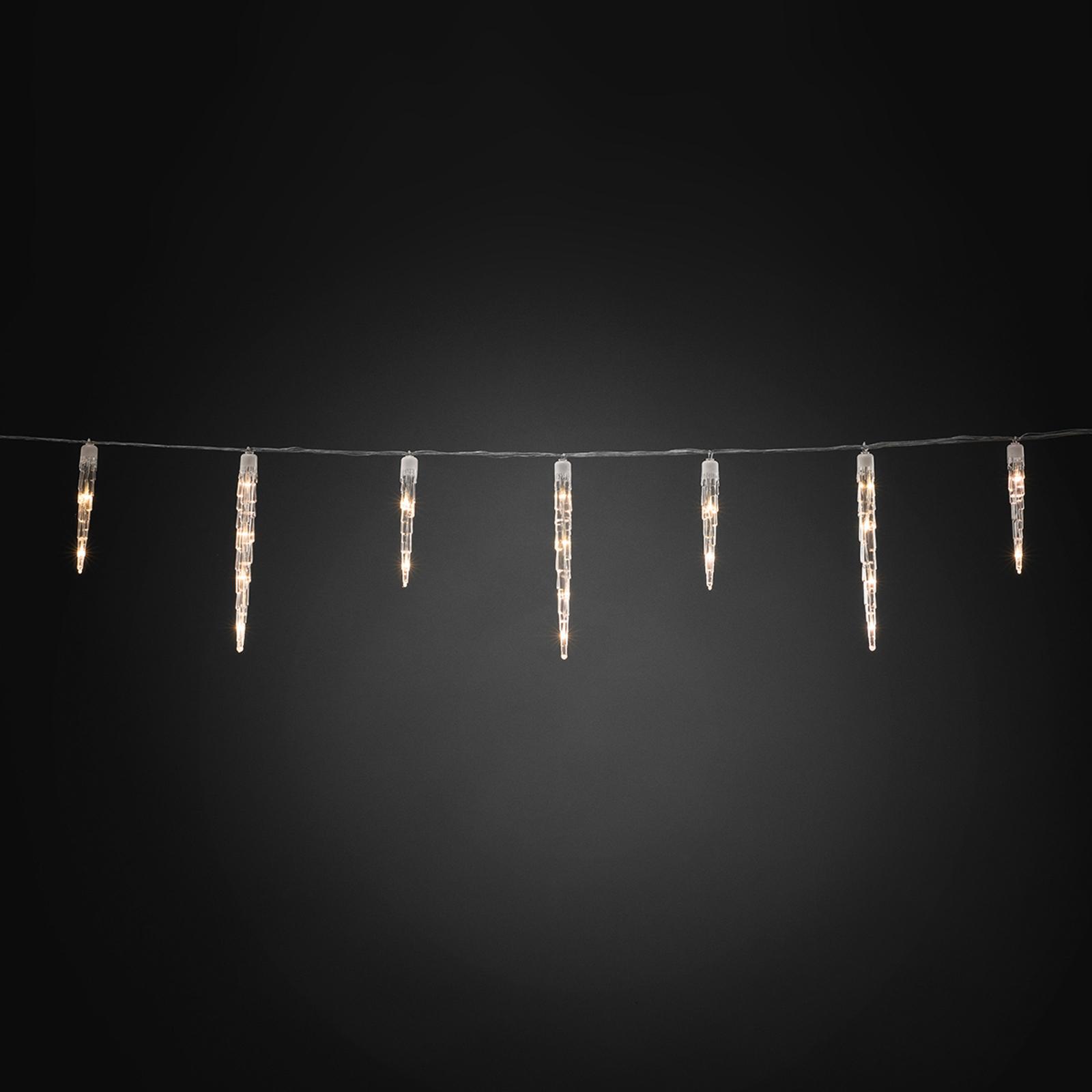 Lichterkette Eiszapfen LED 96-flg