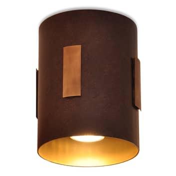 Menzel Solo loftlampe brun/sort/guld
