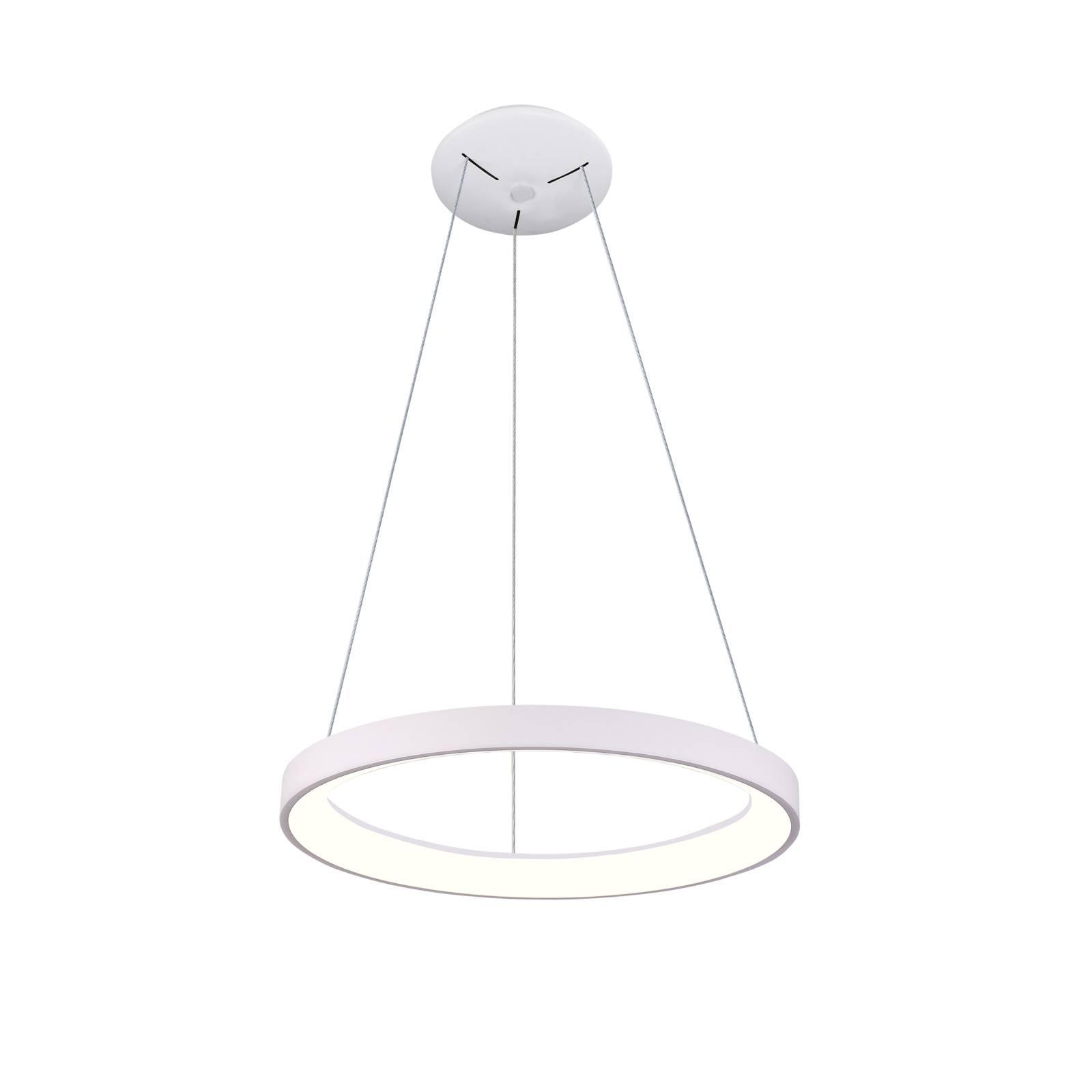 Arcchio Vivy suspension LED, blanche, 38cm
