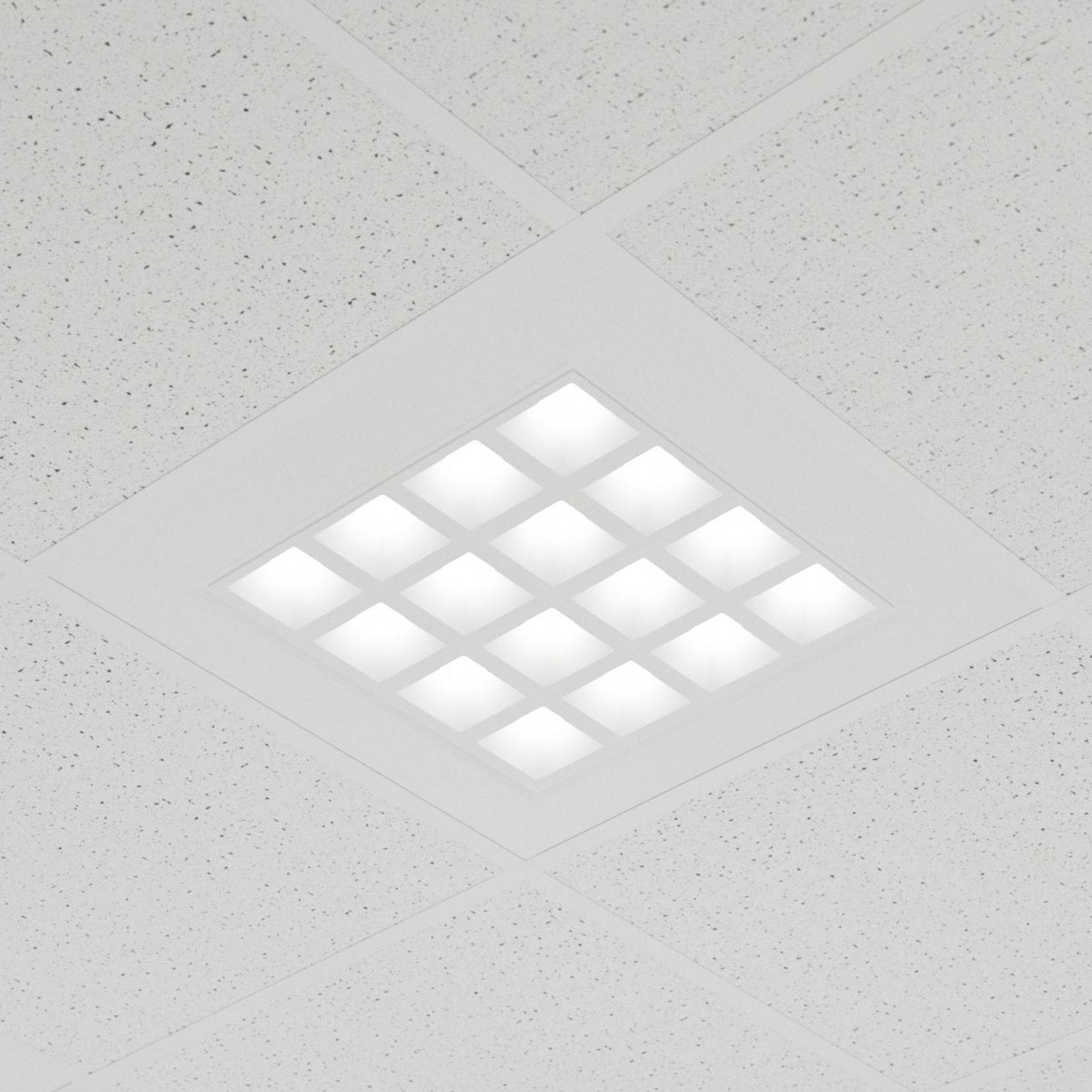 LED-Einbau-Panel Merti in Weiß, 4.000 K